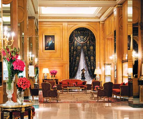 Lobby sin alfombra