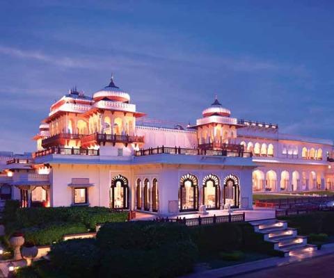 Rambagh Palace, Jaipur, India